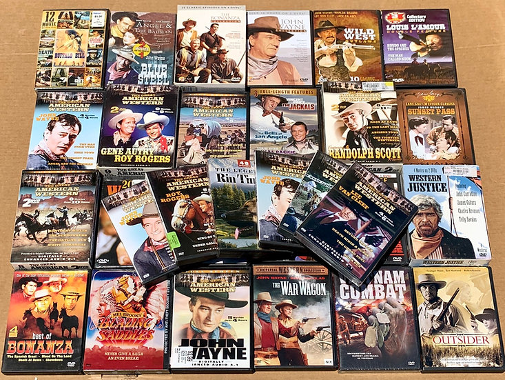 Western Dvds  - FREE SHIPPING