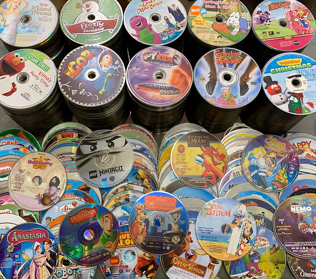 Kids Dvds Loose Disc - FREE SHIPPING