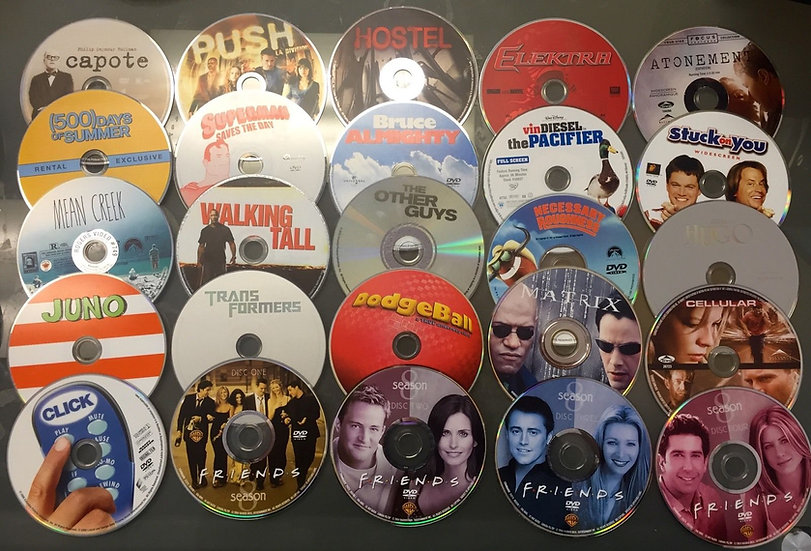 Dvd Movies Loose Disc - FREE SHIPPING