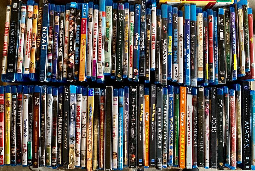 Blu-rays FREE SHIPPING