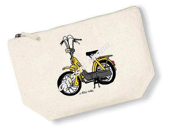 CIAO jaune  / Pochette coton