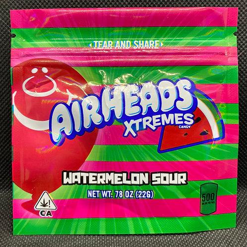 Sour Watermelon Airheads 500mg