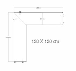 006 rack angle 120X120X30