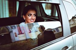 Noica no carro Erica