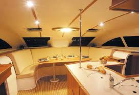 catamaran interior example
