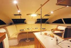 catamaran interior example