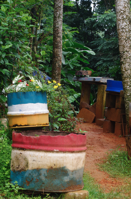 papaya seychelles guesthouse BBQ