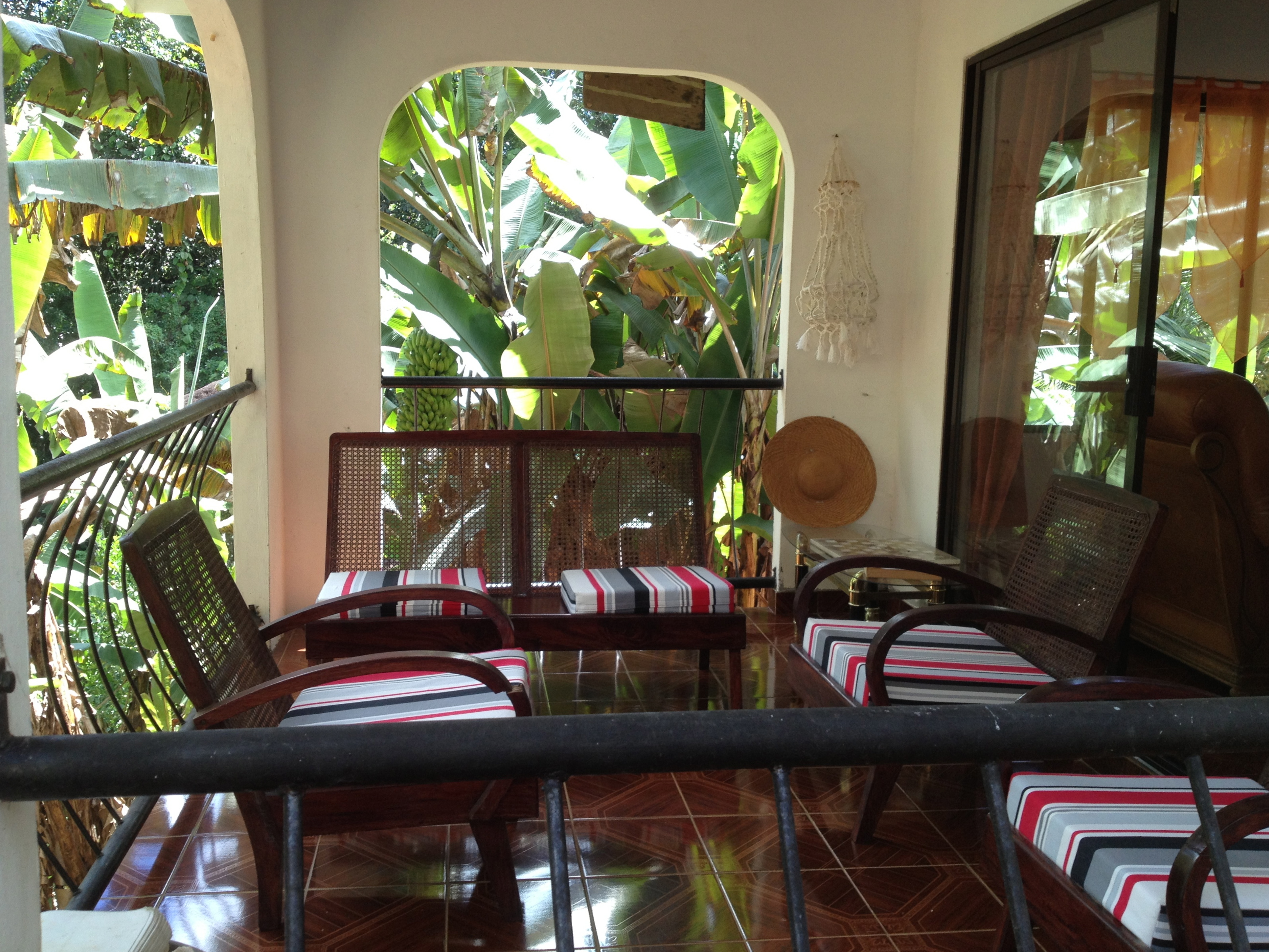 Papaya seychelles guesthouse Veranda
