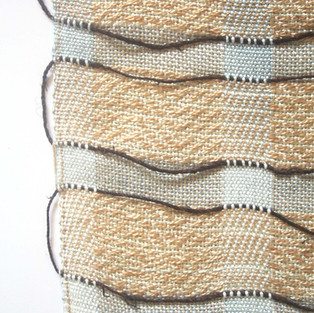 16. Materials: Tencel, Bamboo, Ramie. Dyes: Seaweed, Indigo.