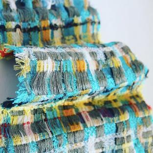 26. Materials: Silk, Linen, Grilon.