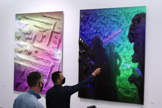 "Vernissage ""Fragmented Realities"", Andreas Reinisch Project, Berlin"