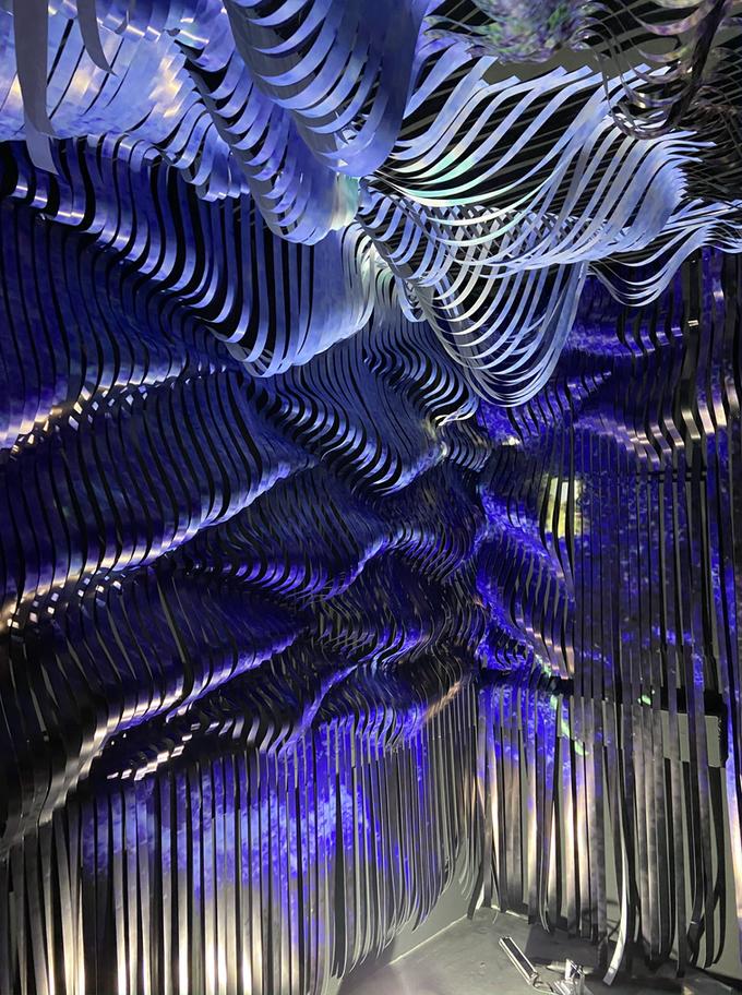 """""""Kunstlabor 2"""" by MUCA Munich, room installation (Detail)"""