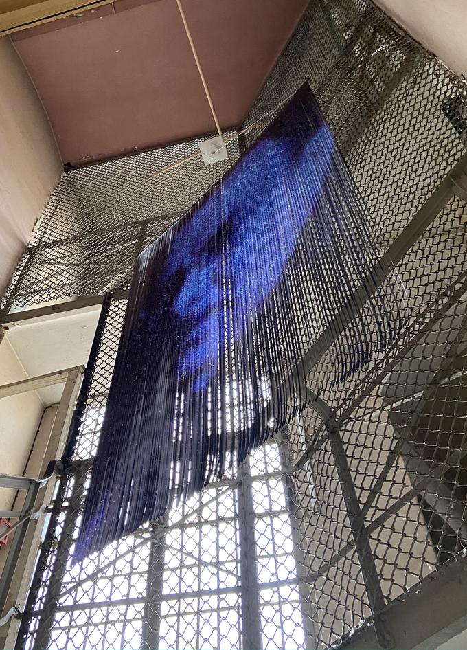 """Installation for """"Tag des offenen Denkmals"""", Gefängnis am Amtsgericht Köpenick, Berlin, sept 12 2021"""