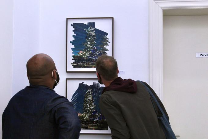 """Vernissage """"Fragmented Realities"""", Andresas Reinisch Project, Berlin"""