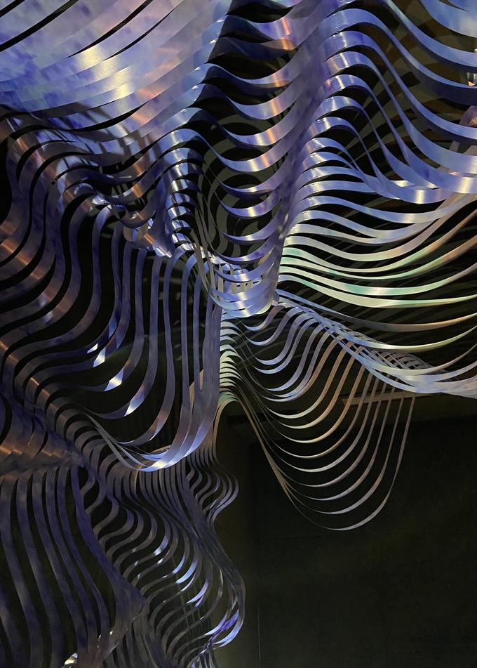 """""""Kunstlabor 2"""" - room installation (Detail)"""
