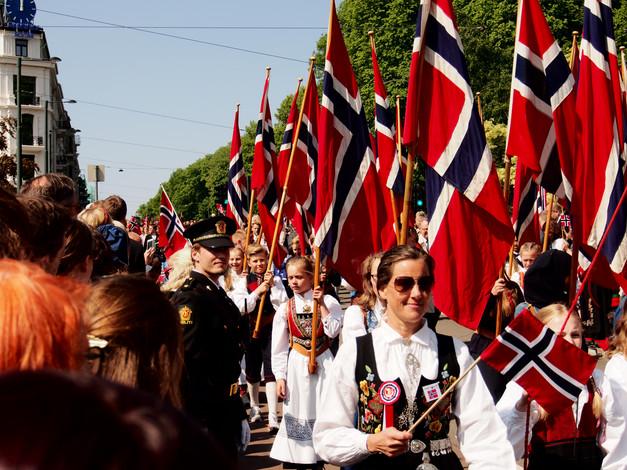 17 mai Norjan itsenäisyyspäivä