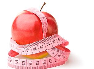 apple and mesure tape isolated.jpg