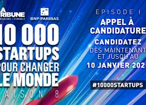 auum en finale de 10000 start-up pour changer le monde !