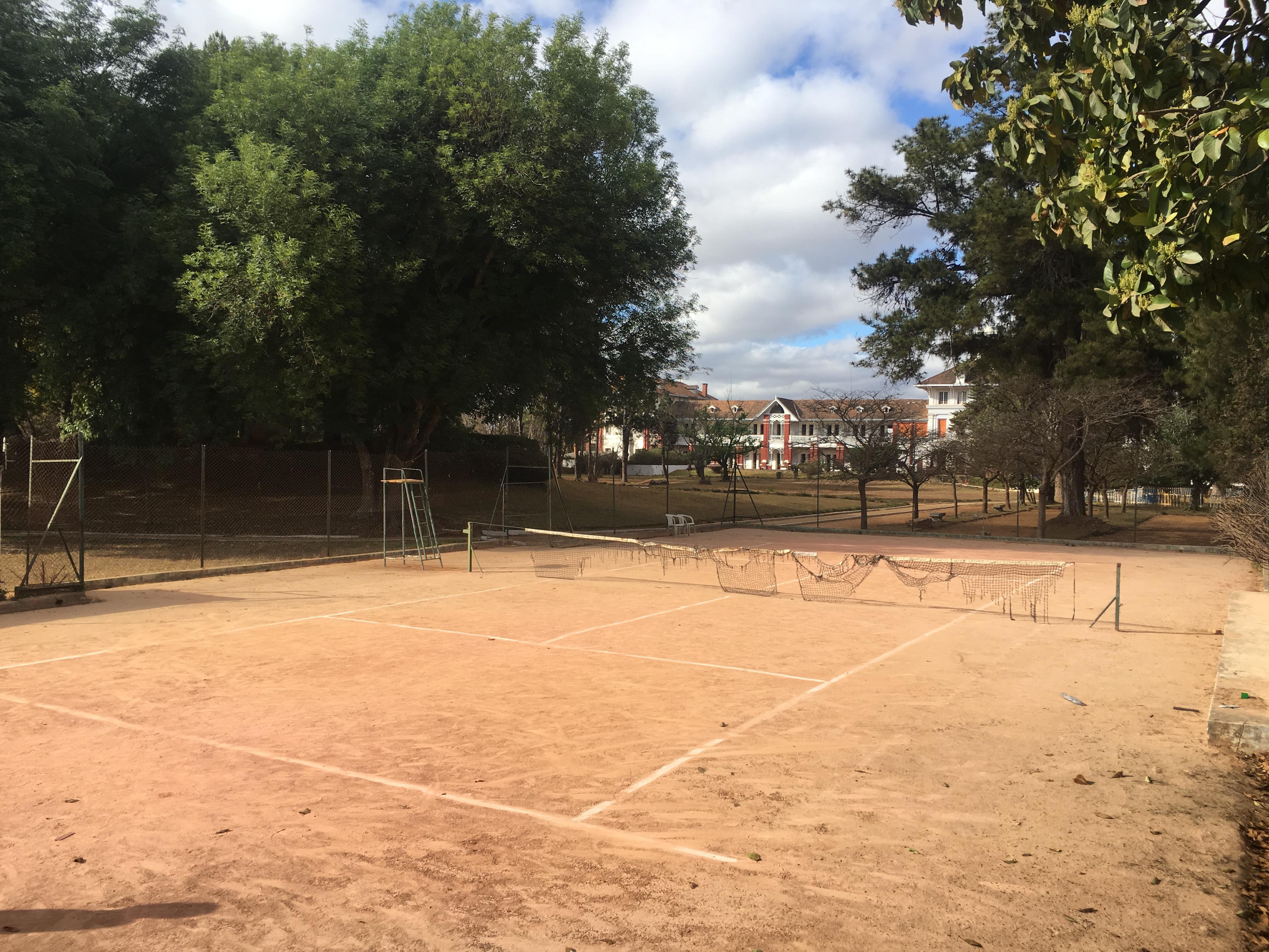Terrain Tennis Terre battue, Madagasca