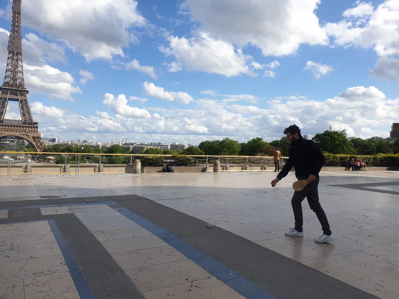 Jokari session, Avril 2020, Tour Eiffel