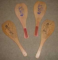 4 raquettes de Jokari en Belgique