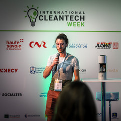 Pitch Auum - Thomas Munoz - International CLEANTECH Week