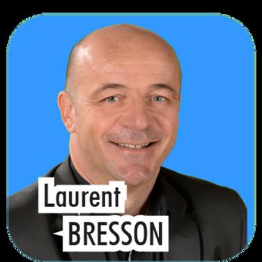 """Laurent BRESSON, 53 ans, dirigeant d'entreprise. """"Actuellement Adjoint à la Sécurité et au Sport, je souhaite poursuivre ma mission au sein de l'équipe municipale, pour mettre mes compétences au profit de la collectivité , comme j'ai pu le faire lors de la mise en place de la vidéo-protection et la gestion de la police municipale. """""""