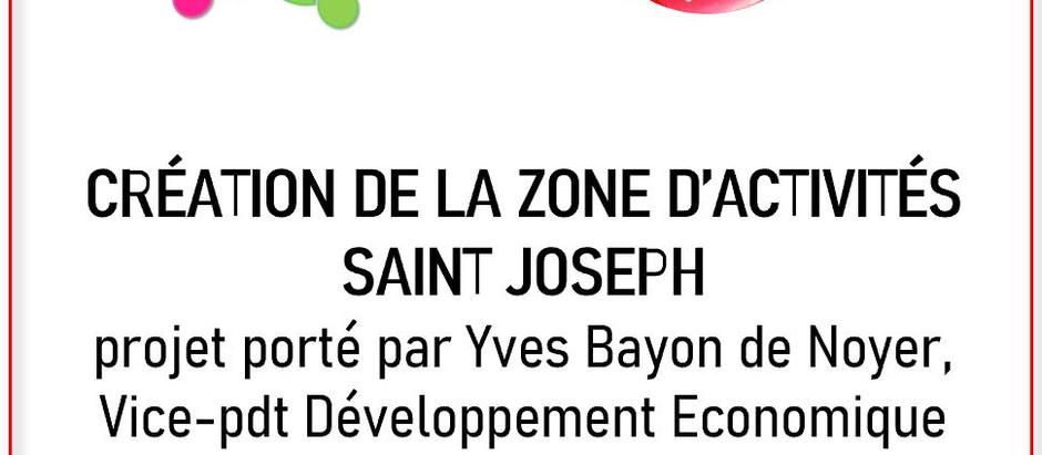 Jour 16 : Création de la zone St Joseph...