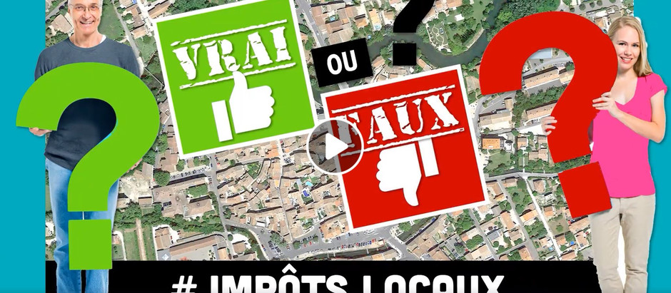 VRAI / FAUX 3 # TAXES LOCALES