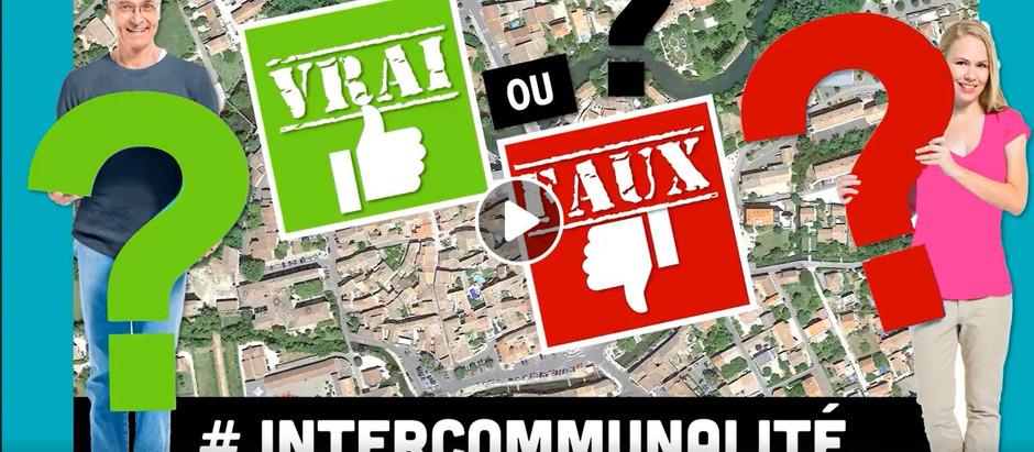 VRAI / FAUX 4 # INTERCOMMUNALITÉ
