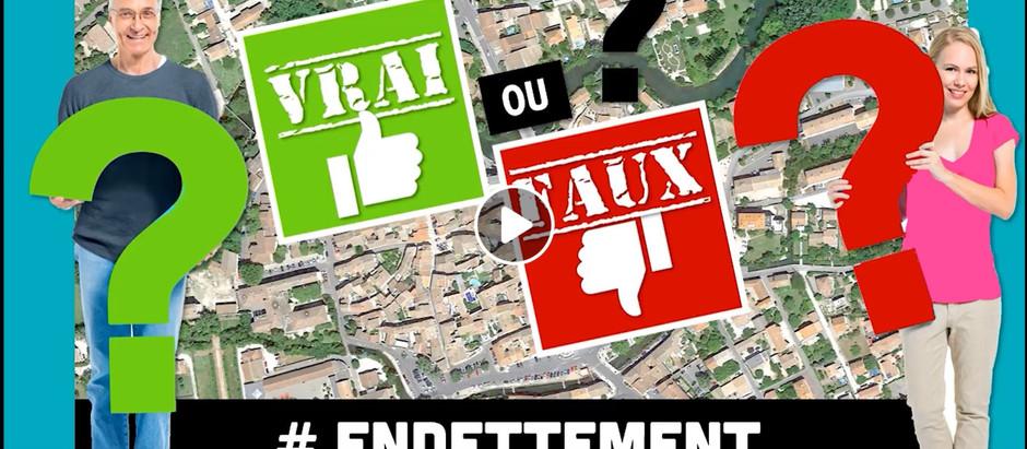 VRAI / FAUX 5 # ENDETTEMENT