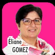 """Eliane GOMEZ, 49 ans, employée commerciale. """"Actuellement Adjointe en charge des associations, j'ai eu grand plaisir à cotoyer au quotidien les responsables d'associations thoroises. pour la prochaine mandature, je souhaite m'occuper, en plus de la gestion des associations, des services jeunesse afin de dynamiser toujours plus nos actions auprès des jeunes Thorois !""""."""