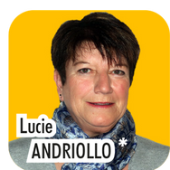 """Lucie ANDRIOLLO, 61 ans, retraitée de la Police Nationale. """"Aux côtés de Laurent Bresson, adjoint en charge de la sécurité, je propose de mettre mes 38 années d'expérience en Police Nationale, pour la gestion de la tranquilité publique. De nombreuses choses ont déjà été faites, mais nous devons continuer pour apporter toujours plus de sécurité aux Thorois !"""""""