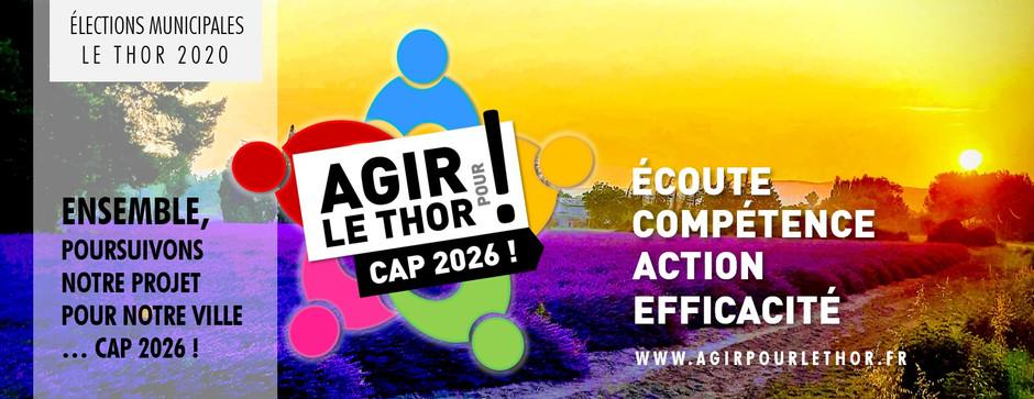 Ouverture du blog Agir Pour le Thor 2020