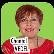 """Chantal VEDEL, 63 ans, gouvernante à l'EHPAD. """"Actuellement Conseillère Municipale, je souhaite m'investir davantage et seconder Hélène Mérigaud dans la gestion du social et des personnes âgées."""""""
