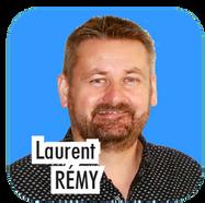 """Laurent REMY, 46 ans, directeur d'agence événementielle. """"Trés heureux d'avoir pu pendant ces 6 premières années, mettre mes compétences au profit de notre ville pour dynamiser la communication et la rendre toujours plus interactive. Je souhaite poursuivre cette mission en développant toujours plus le numérique et en favorisant la participation active des citoyens."""""""