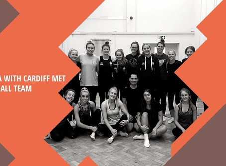 Refocused And Ready For A New Season With The Cardiff Met Netball Team