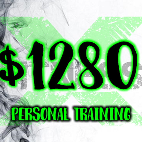 $1280 per session personal training