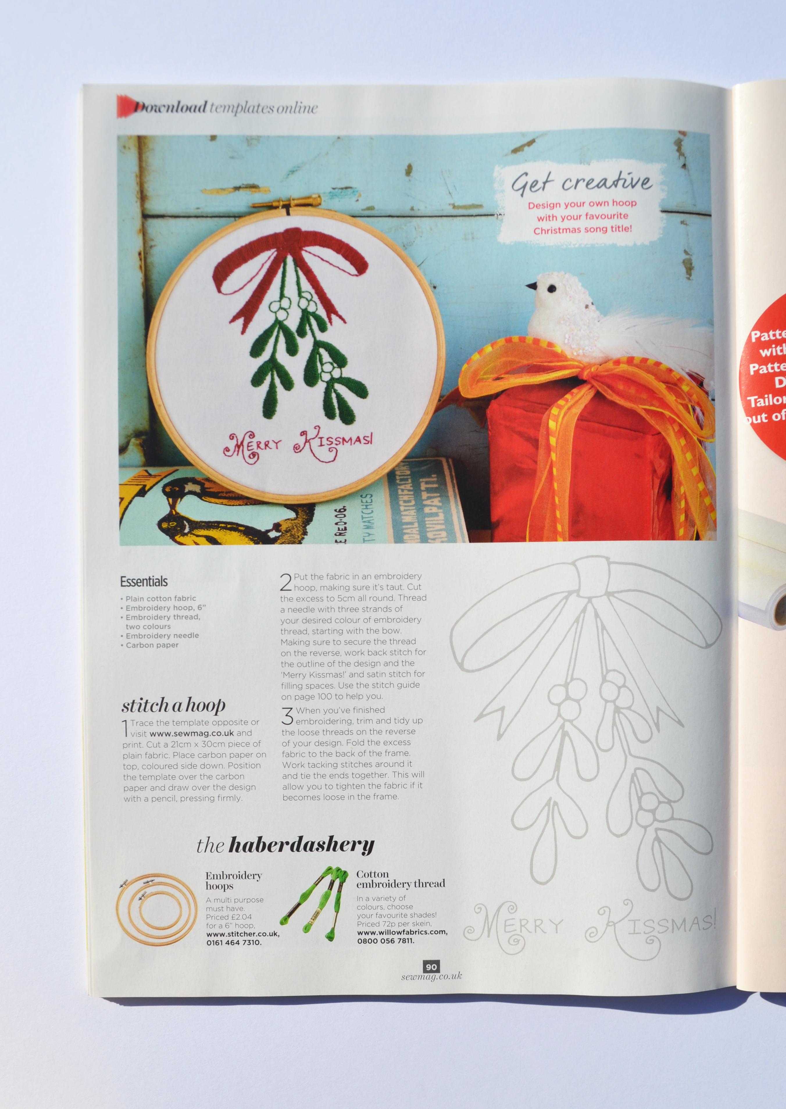 Writer and Designer for Craft magazine Tutorials