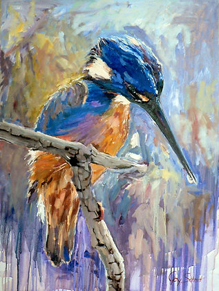 The Kingfisher (Oil)