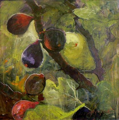 Fig Tree (Mixed Media)