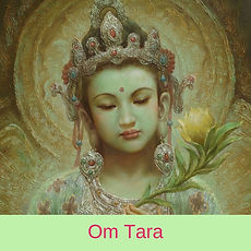 Om Tara by Chloe Goodchild