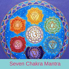 Seven Chakra Mantra by Chloe Goodchild