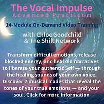 The Vocal Impulse Advanced Practicum-sho