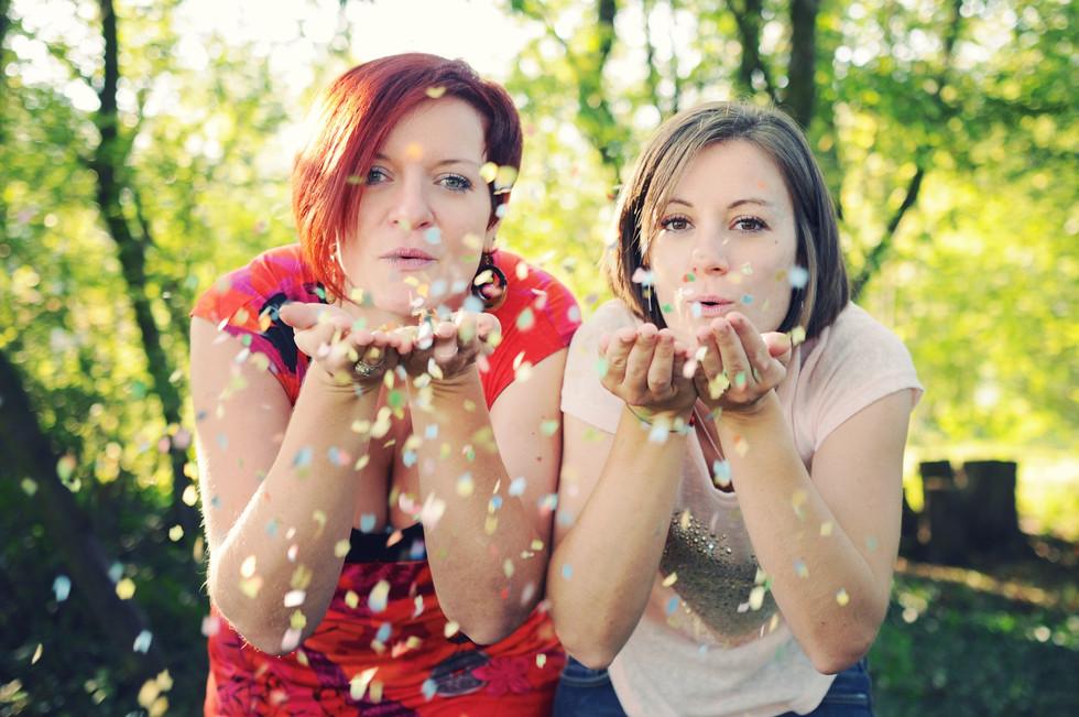 Vignes et confettis