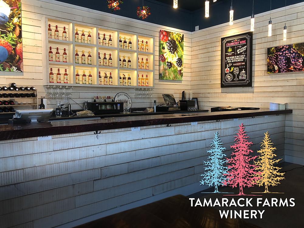 Tamarack Farms Winery in Hayward, WI