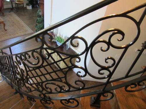 Luxury Iron Stair railing