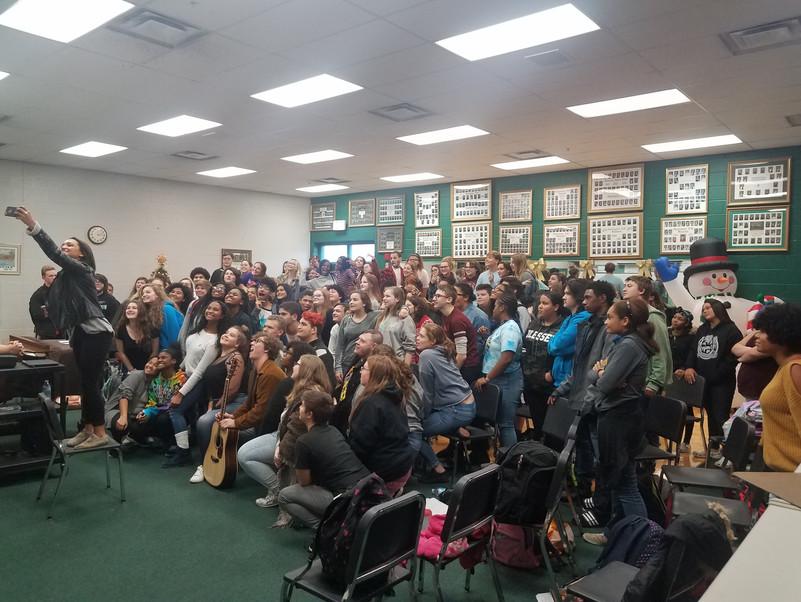 Speaking @ Huntington High, WV