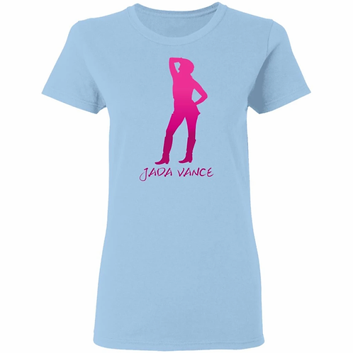 Jada pink silhouette shirt