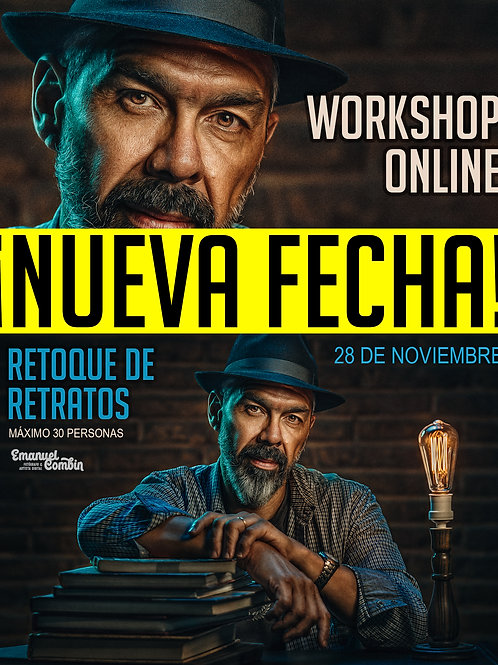 WORKSHOP ONLINE 2 - RETOQUE DE RETRATOS